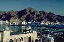 Oman: Muscat with its magnificent frontage