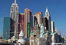 Las Vegas, NV, USA: Skyline of 'New York's Manhattan'