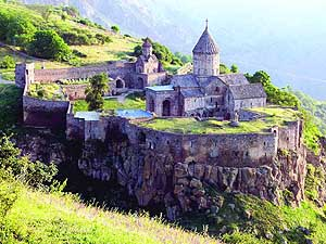 Armenia: Tatev Monastery near Goris in the Southeast
