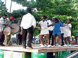 Barbados: Caribbean party at 'Batts Rock Bay'