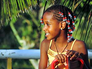 Cape Verde: Girl from Praia