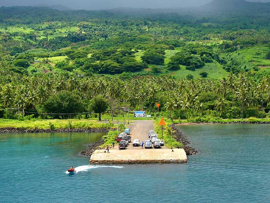 Map Of Taveuni Island Fiji