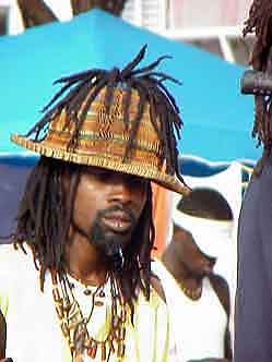 Georgetown/Guyana: The influence of Rastafarians from the Caribbean (Jamaica) is distinctive
