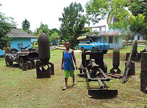 Biak/Papua/Indonesia: Relicts from World War 2