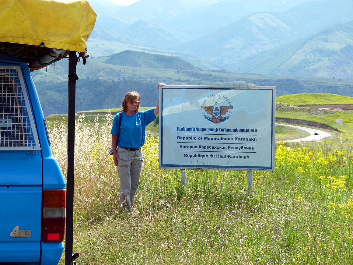 However It Can Be Visited From The Armenian Side Without Any Problem. The  Border From Nagorno Karabakh To Iran Is Closed.