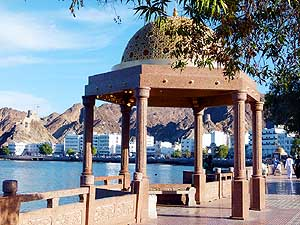Oman/Muscat: The famous Corniche in Muttrah