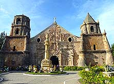 Philippines: Church of Miagao on the Island of Panay in the Visayas Group