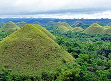 Philippines: Chocolate Hills - Island of Bohol in the Visaya Group