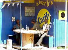 Trinidad & Tobago: A cold 'Carib' beer at Scarborough on Tobago