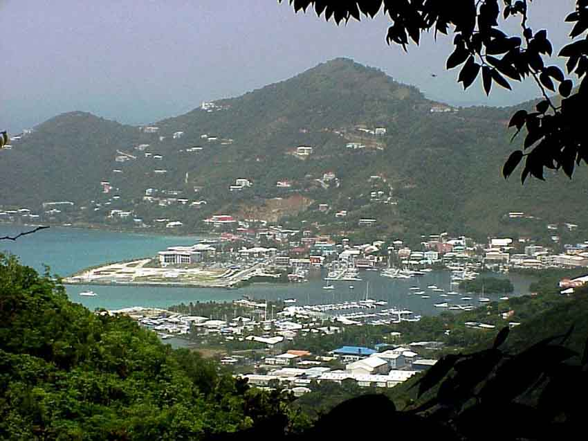 Town And Country Toyota >> Worldrecordtour, North America, Caribbean, British Virgin Islands, Tortola, Road Town, Picture ...