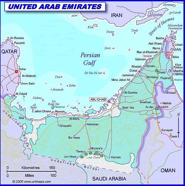 Karte Oman.Weltrekordreise Asien Mittlerer Osten Gcc Vereinigte Arabische