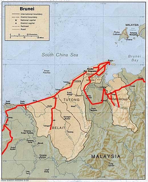 Map Of Asia Brunei.Worldrecordtour Asia Southeast Asia Borneo Brunei Bandar Seri