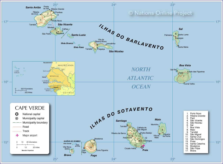 Wo Liegt Kapverden Karte.Weltrekordreise Afrika Zentral Atlantik Kap Verde Santiago