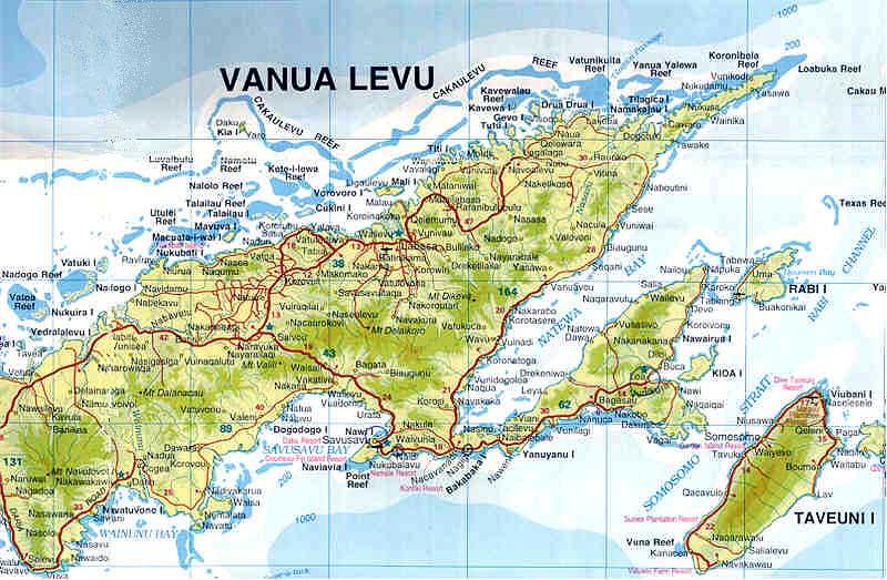 Worldrecordtour Oceania Pacific Melanesia Fiji Viti Levu Vanua