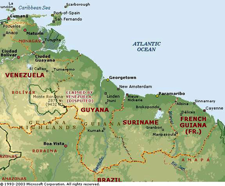 Worldrecordtour South America Guyana Georgetown Picture Story