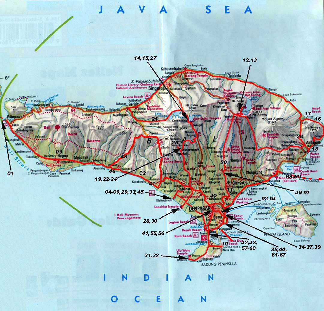 Worldrecordtour Asia Indonesia Bali Denpasar Guinness Book of