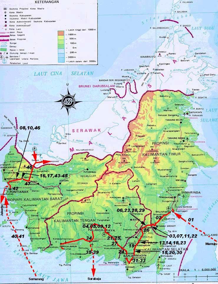 Worldrecordtour Asia Indonesia Kalimantan Borneo Guinness Book