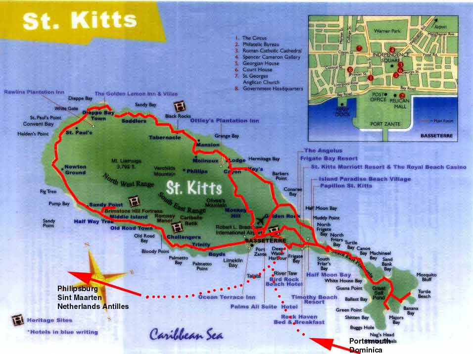 Worldrecordtour North America Caribbean Saint Kitts St Kitts