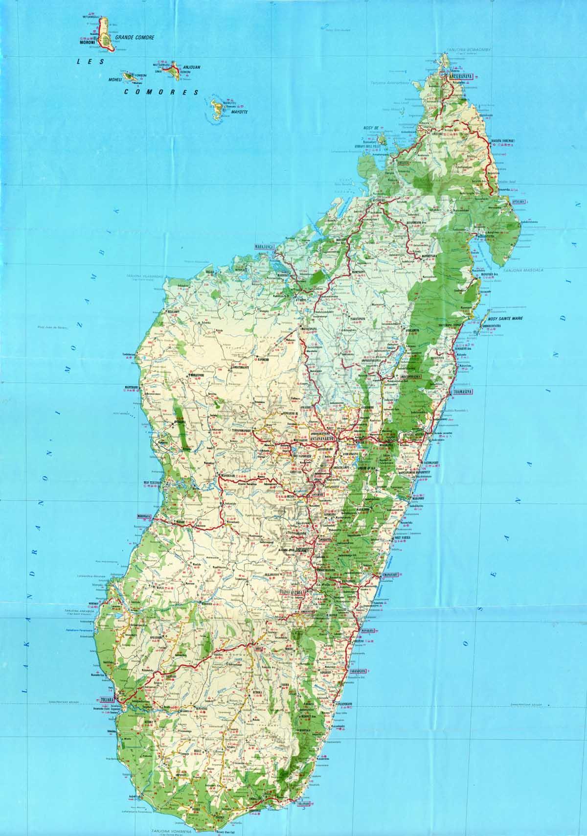 Madagaskar Karte.Worldrecordtour Africa Indian Ocean Madagascar Picture