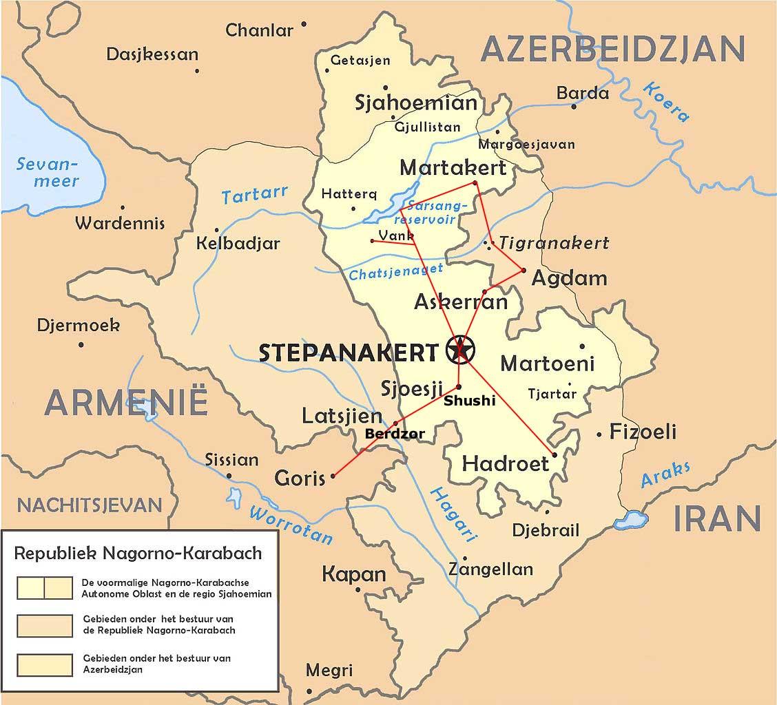 Worldrecordtour, Asia, Middle East, Caucasus, Nagorno-Karabakh ...