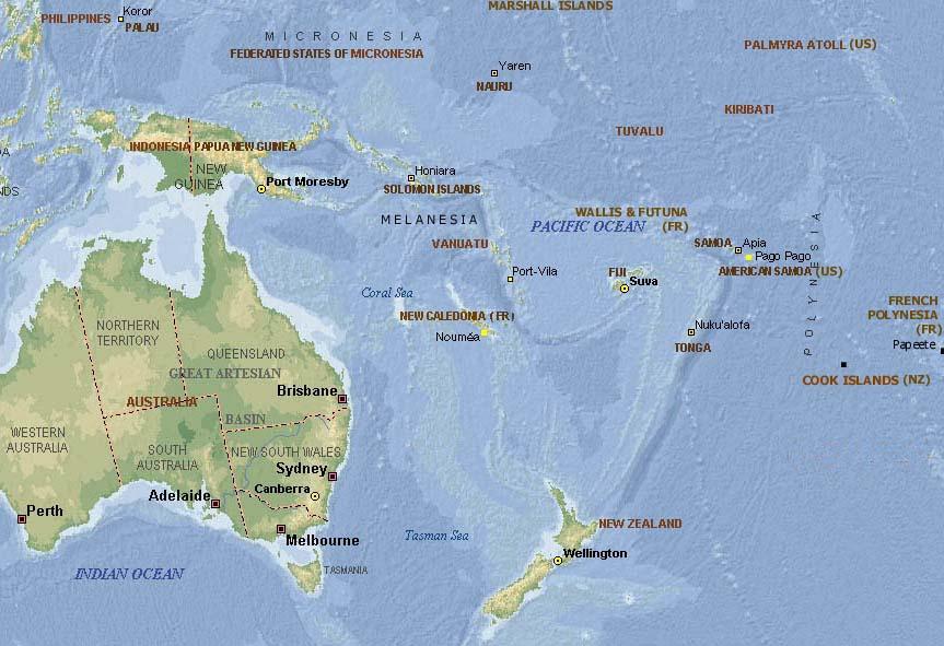 nordinsel neuseeland karte