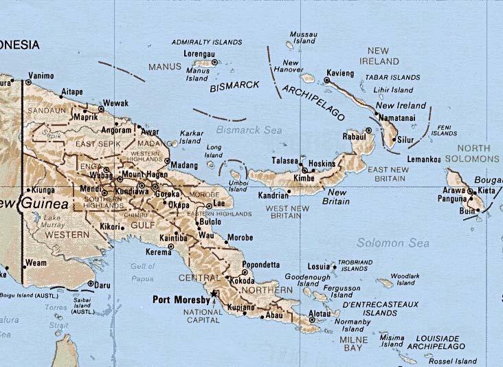 Worldrecordtour Oceania Pacific Papua New Guinea Port Moresby