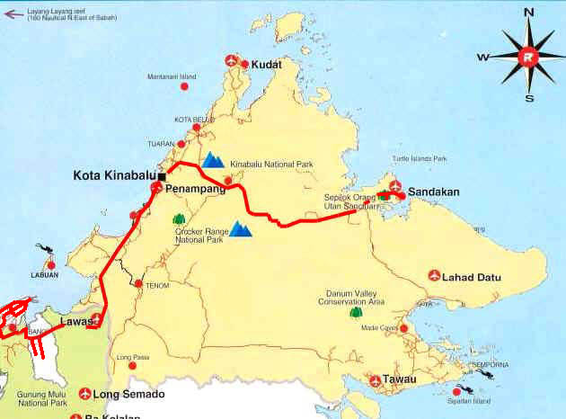 Worldrecordtour Asia Southeast Asia Borneo Malaysia East