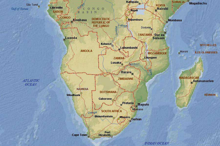 Weltrekordreise Afrika Sudliches Afrika Sudafrika Nordkap