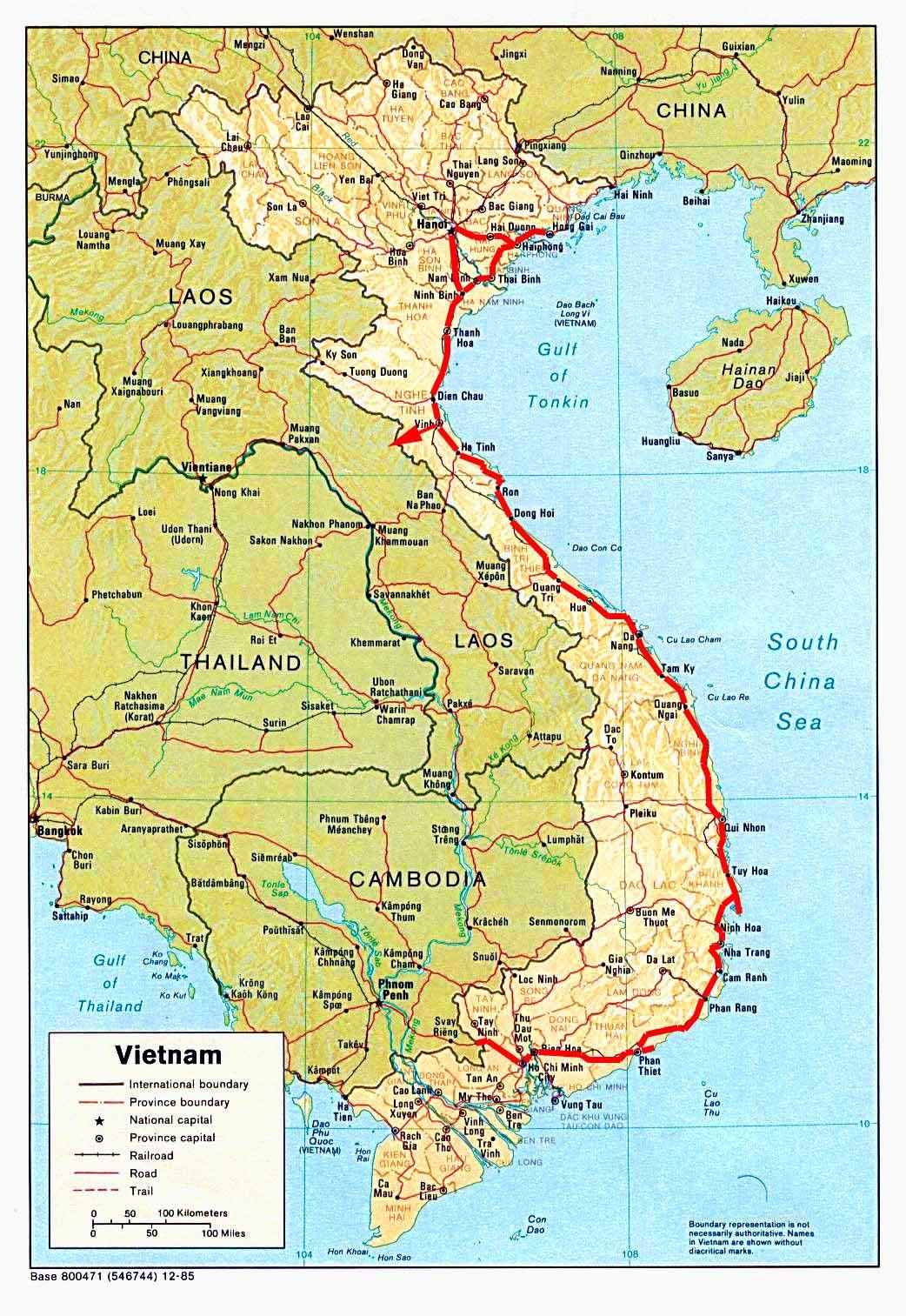 Vietnamkrieg Karte.Weltrekordreise Asien Südostasien Indochina Vietnam Hanoi Ho