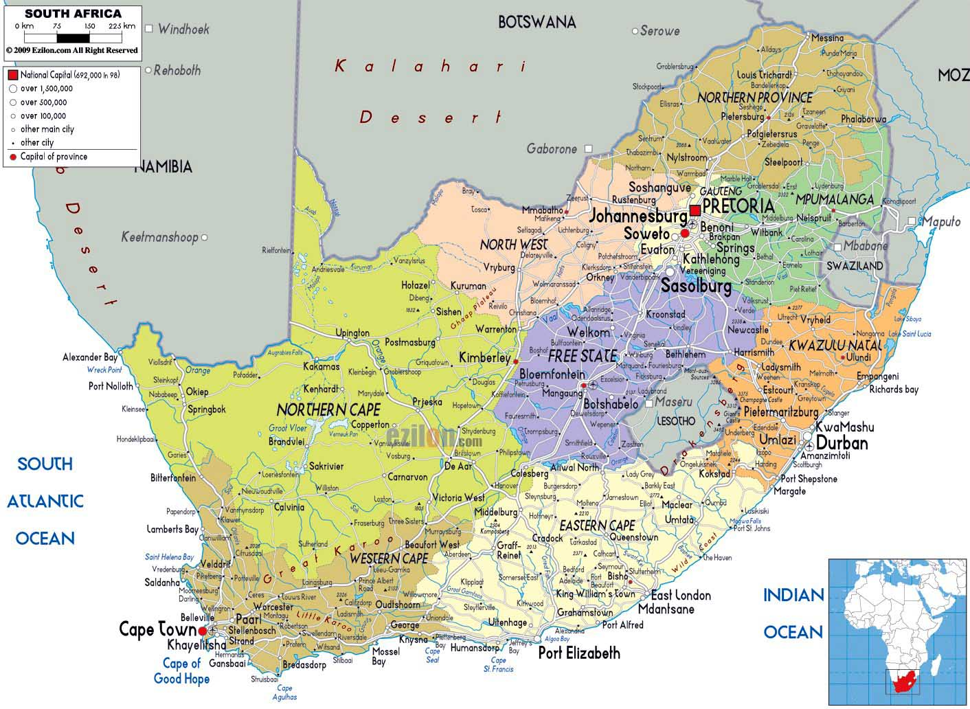 Worldrecordtour, Africa, Southern Africa, South Africa ...